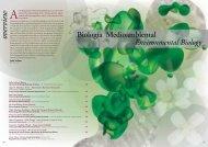 overview - Centro de Investigaciones Biológicas