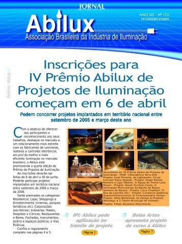 Inscrições para IV Prêmio Abilux de Projetos de Iluminação ...
