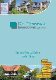 Ihre Immobilien sind bei uns in guten Händen - Dr. Tronnier ...