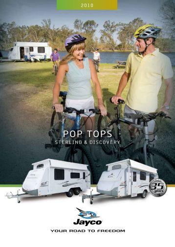PoP ToPs – Jayco - White Heather Caravans