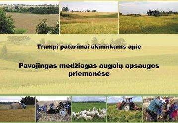 PDF – 0.3 MB (Lietuvių k., 2005) - Baltijos aplinkos forumas Lietuvoje