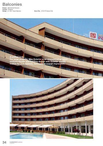 Balconies - Sisteme-fatade.ro