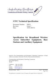 Broadband Wireless Access Subscriber Equipment, Base Stations ...