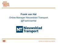 Frank van Hal - Nieuwsblad Transport