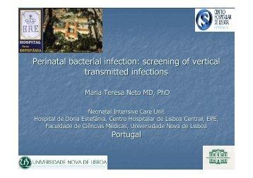 Perinatal bacterial infection - Repositório do Centro Hospitalar de ...