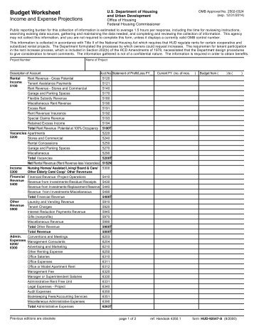 Monthly income and expense worksheet virginia
