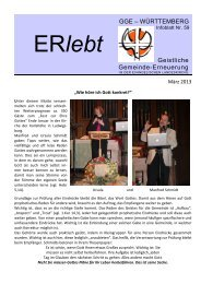 Download - Nr. 59 - Geistliche Gemeinde-Erneuerung Württemberg