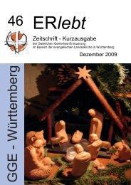 Download - Nr. 46 - Dezember 2009 als PDF-Datei - Geistliche ...