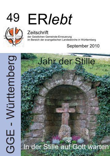 Download - Nr. 49 - September 2010 als PDF-Datei - Geistliche ...