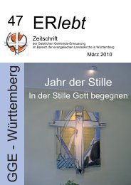 Download - Nr. 47 - März 2010 als PDF-Datei - Geistliche Gemeinde ...