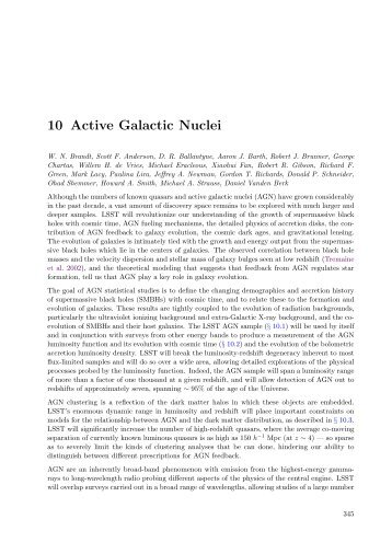Active Galactic Nuclei - LSST