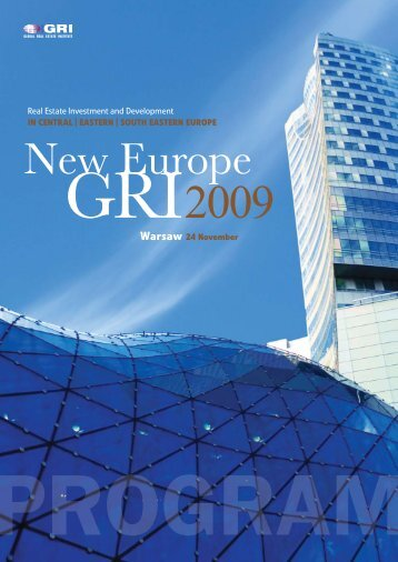 New Europe - Global Real Estate Institute