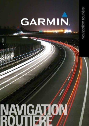 navigation routiere - Garmin