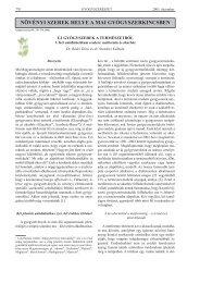 Rédei D., Szendrei K.: Új gyógyszerek a természetből 1. Két ...