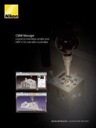 Cmm-manager - Nikon Metrology