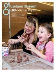 2009 Annual Report - Gardiner Museum