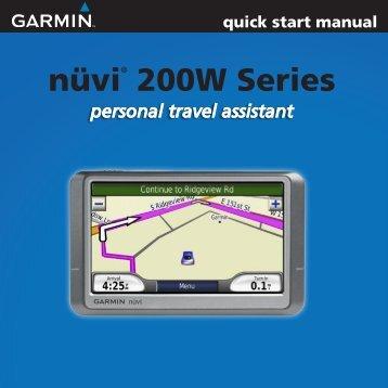 nüvi® 200W Series - Garmin