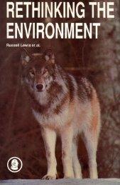 Rethinking The Environment