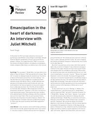 Emancipation in the heart of darkness: An interview with ... - Platypus