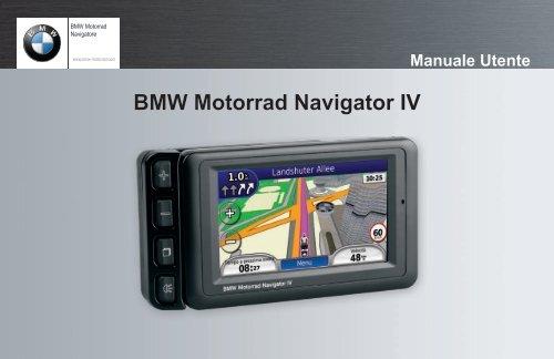 BMW Motorrad Navigator IV Manuale Utente - Garmin