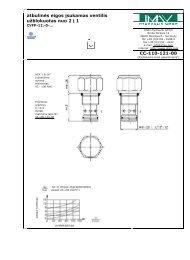 atbulin s eigos įsukamas ventilis užblokuotas nuo 2 į 1 CC-110-121-00