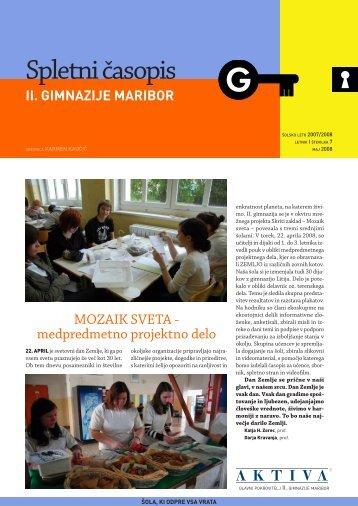 Preberi - II. gimnazija Maribor