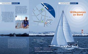 Yachtschule Eichler Imagekatalog