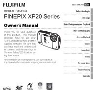 FINEPIX XP20 Series - Fujifilm