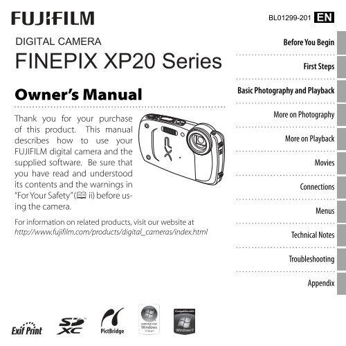 FINEPIX XP20 Series - Fujifilm