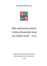 Plán začleňování seniorů v Královéhradeckém kraji pro období 2008