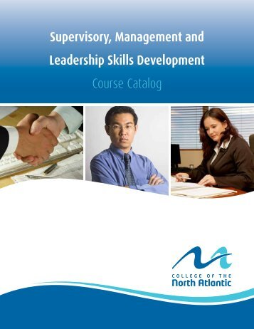 Supervisory, Management and Leadership Skills Development ...