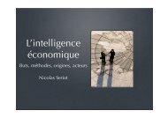L'intelligence économique - Seriot, Nicolas