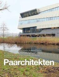 Architektur ist eine komplexe Aufgabe. Die meisten Projekte ...