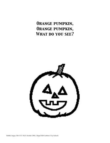 Orange Pumpkin - Speaking of Speech