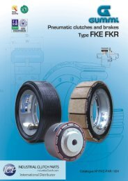 Download Technical Catalog - Industrial Clutch Parts Limited