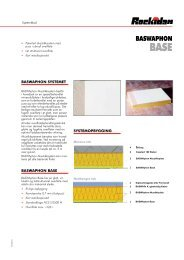 BASWAphon Base systemblad - Rockidan