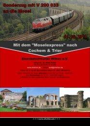 Anmeldeunterlagen zum Download - Eisenbahnfreunde Witten