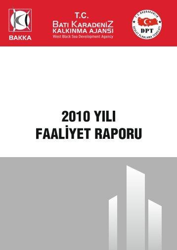 dosya - Batı Karadeniz Kalkınma Ajansı