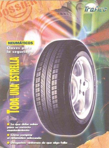 Todo lo que debe saber sobre los neumáticos, claves en la seguridad