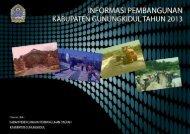 Informasi Pembangunan Kab. Gunungkidul Tahun 2013