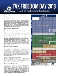 april 18, Five days Later Than Last year - Tax Foundation