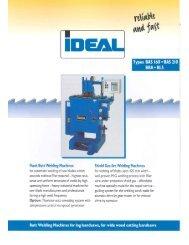 Brochure BBA + BLS - IDEAL-Werk C. + E. Jungeblodt GmbH + Co. KG