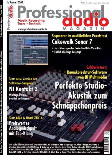 Schafspelz - Funk Tonstudiotechnik