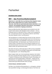 BIC - IDS Logistik GmbH