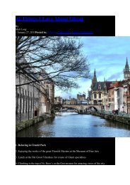 42 Things I Love About Ghent - Visit Gent