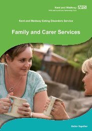 Eating Disorders - Family and Carer Services - Kent and Medway ...