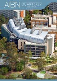 2011 Quarter 1 - AIBN - University of Queensland
