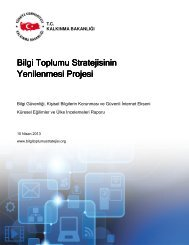 Bilgi Güvenliği, Kişisel Bilgilerin Korunması ve Güvenli İnternet ...