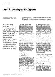 Asyl in der Republik Zypern - BIQ