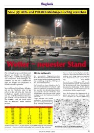 Wetter − neuester Stand Flugfunk Serie (2): ATIS - Radio-Scanner